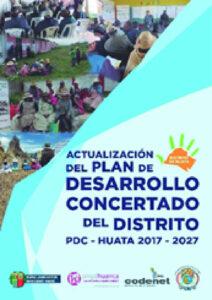 Actualización del Plan de Desarrollo Concertado del Distrito